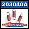 Comet 203040A RED Clutch Springs. Package of 3 RED Springs for 40C Drive Clutch.