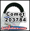 COMET 203784 (A-DF). Manco/ASW 6814 Belt, OEM SPEC BELT 40-80 for Comet 40/44 Series Go Kart Clutches