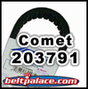 COMET 203791 (A-DF), Comet Industries replacement belt for 40-130 Go Kart Belt.
