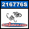 Comet 216776S Clutch Springs for Tiller Clutch (PPFTC14).