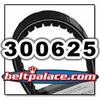 COMET 300625 (A-C-DF), Comet Industries belt replacement for Salsbury 704043 Go Kart belt.