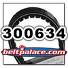 COMET 300634 (A-C-DF), Comet Industries belt replacement for Salsbury 704055 Go Kart belt.