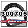 Comet 300705 (A-C-DF) 704148 Drive Belt. Aftermarket HONDA S704148 Variable Speed belt.