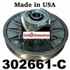 "Comet 302661-A, 510 Series Secondary Clutch - 7/8 Bore. 1/4"" Keyway. 8-1/4 Dia."