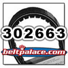 COMET 302663 - Replaces original Comet 302663-DF. CVT Drive Belt #302663.