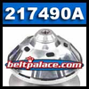 """Comet 217490A, Comet 94C Duster Drive Clutch w. Ribbed Cover. 1-1/8"""" Bore."""