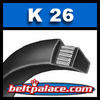 K26 Belt. Specialty belt for drill press and industrial tools.