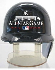 2008 All-Star Game New York Riddell Mini Baseball Batting Helmet