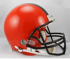 2015 Cleveland Browns Full Size Riddell Authentic Helmet
