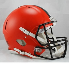 2015 Cleveland Browns  Speed Riddell Full Size Authentic Helmet
