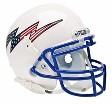 Air Force Falcons Stars and Stripes Schutt XP Full Size Replica Helmet