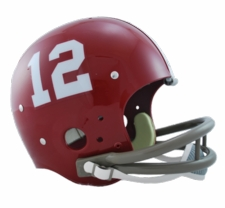 Alabama Crimson Tide 1964 Riddell NCAA TK 2-Bar Suspension Throwback Full Size Helmet