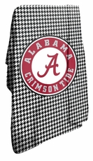 Alabama Crimson Tide Houndstooth Circle Classic Fleece