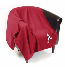 Alabama Crimson Tide Sweatshirt Throw Blanket