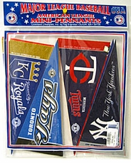 American League Mini Pennant Set