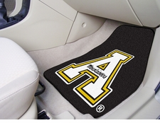 Appalachian State Mountaineers 2-Piece Carpeted Car Mats Front Set