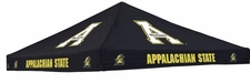 Appalachian State Mountaineers Black Logo Tent Replacement Canopy