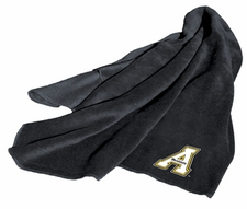 Appalachian State Mountaineers Fleece Throw
