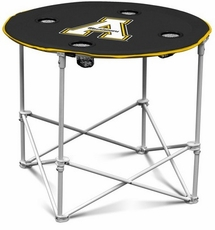 Appalachian State Mountaineers Round Tailgate Table