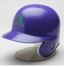 Arizona Diamondbacks Purple Riddell Mini Baseball Batting Helmet