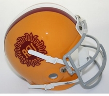 Arizona State Sun Devils 1976 Schutt Throwback Mini Helmet