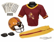Arizona State Sun Devils Deluxe Youth / Kids Football Helmet Uniform Set
