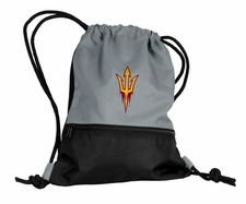 Arizona State Sun Devils Gray String Pack / Backpack