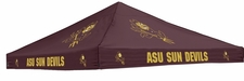 Arizona State Sun Devils Maroon Logo Tent Replacement Canopy