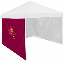 Arizona State Sun Devils Maroon Side Panel for Logo Tents