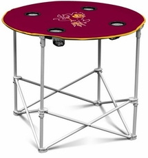 Arizona State Sun Devils Round Tailgate Table