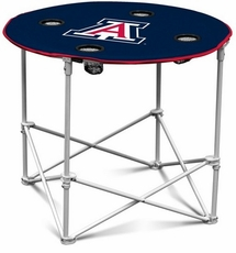 Arizona Wildcats Round Tailgate Table