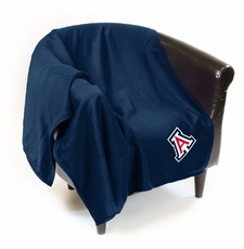 Arizona Wildcats Sweatshirt Throw Blanket