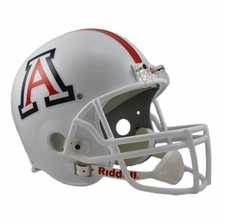 Arizona Wildcats White Riddell Deluxe Replica Helmet