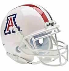 Arizona Wildcats White Schutt Authentic Mini Helmet