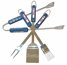 Atlanta Braves Grill BBQ Utensil Set