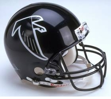 Atlanta Falcons 2002 Throwback Riddell Pro Line Helmet