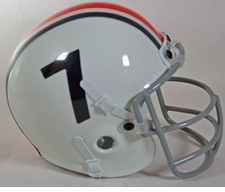 Auburn Tigers 1961-65 Schutt Throwback Mini Helmet