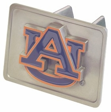 "Auburn Tigers ""AU"" Trailer Hitch Cover"