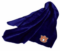 Auburn Tigers Fleece Throw (Navy)