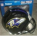 Baltimore Ravens Autographed Football Gear
