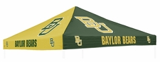 Baylor Bears Green / Yellow Logo Tent Replacement Canopy