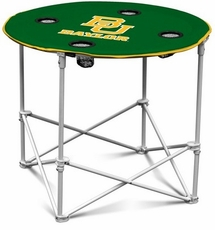 Baylor Bears Round Tailgate Table