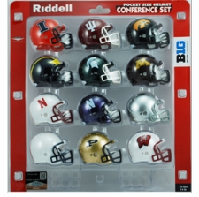 Big Ten Pocket Pro Conference Helmet Set, 2013