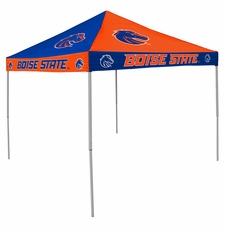 Boise State Broncos Blue / Orange Checkerboard Logo Canopy Tailgate Tent