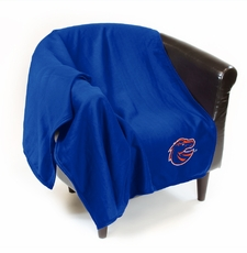 Boise State Broncos Sweatshirt Throw Blanket