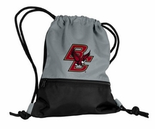 Boston College Eagles Gray String Pack / Backpack