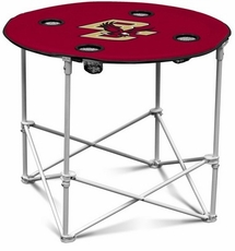 Boston College Eagles Round Tailgate Table