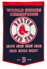 Boston Red Sox 24x36 Wool Dynasty Banner