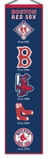 Boston Red Sox Wool 8x32 Heritage Banner