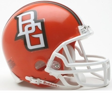 Bowling Green Falcons 2007-10 Riddell NCAA Replica Mini Helmet